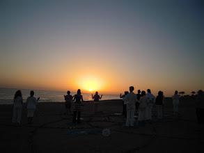 Photo: Ägypten 2010 Sonnenaufgangszeremonie