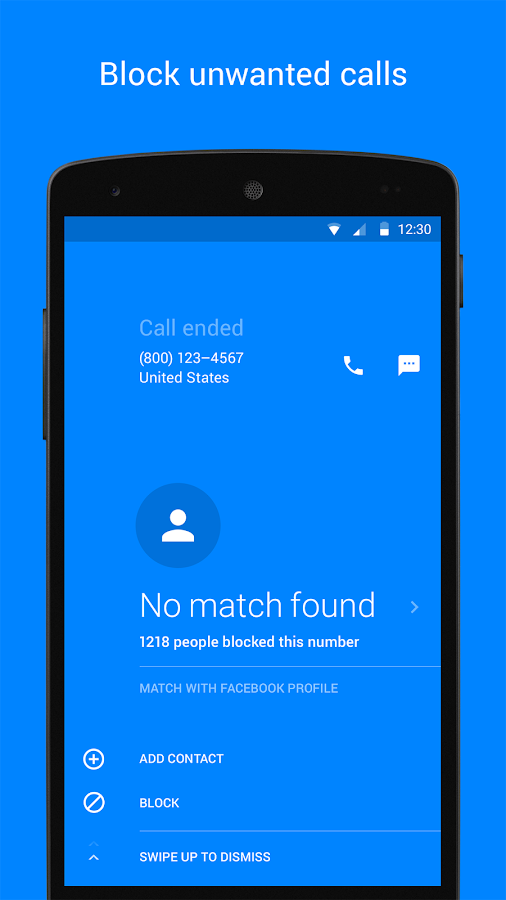 Hello — Caller ID & Blocking- screenshot