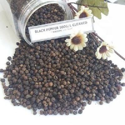 Black Pepper (MC, ASTA, CLEAN) 500- 550 – 580 G/L
