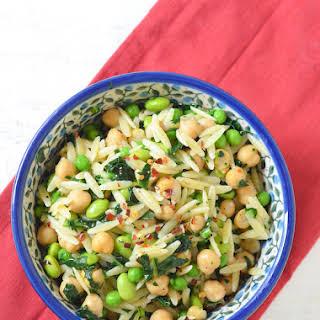 Super Greens Healthy Pasta Salad.