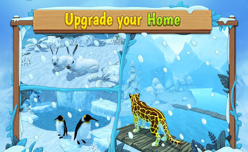 Snow Leopard Family Sim Online apkpoly screenshots 6