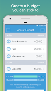 Mvelopes Budget App- screenshot thumbnail