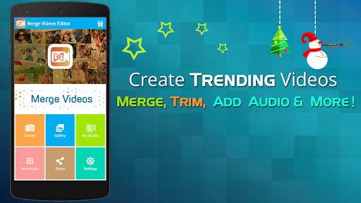 merge video editor join trim screenshot 1