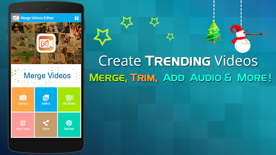 Merge Video Editor Join Trim Mod 1.35 Apk [Pro Features Unlocked] 1