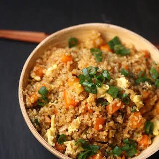 Quinoa Fried Veggie Rice.