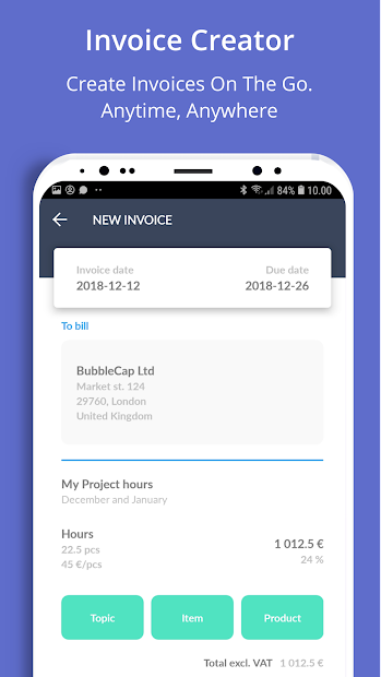 Taimer: Project Management, CRM, Invoicing System screenshot 4