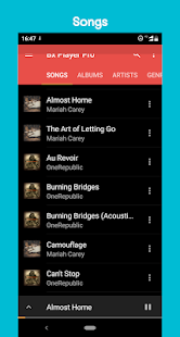 BX Music Player Pro - Tag Editor&Lyrics Screenshot