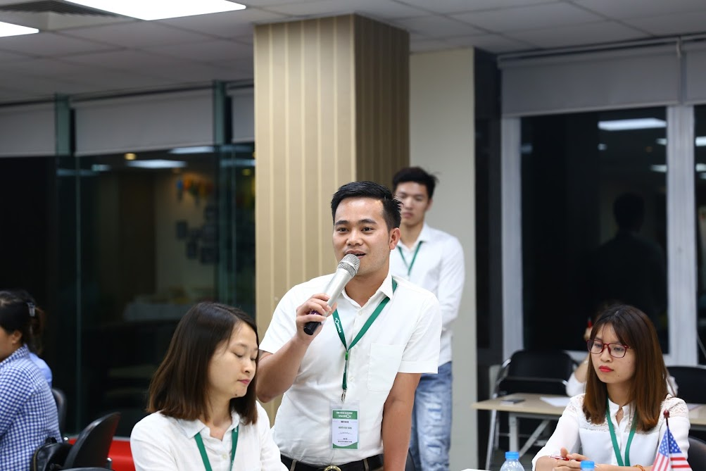 Hình ảnh khai giảng khoá học SEO K43