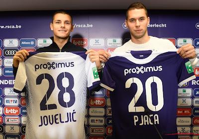 Joveljic et Pjaca ont joué quelques minutes pour Anderlecht face à Dudelange