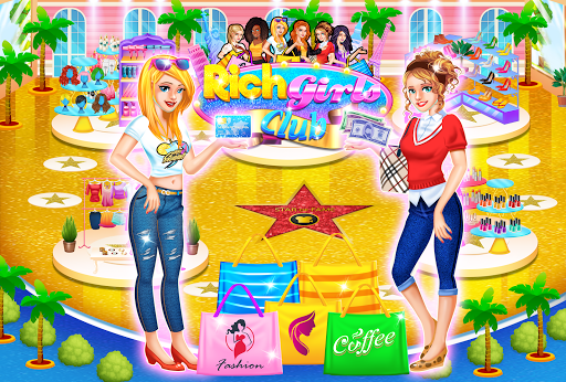 Code Triche Rich Girls Shopping 🛍  - Cash Register Games mod apk screenshots 2