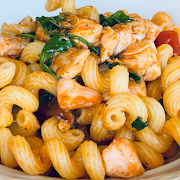 Spicy Salmon Pasta