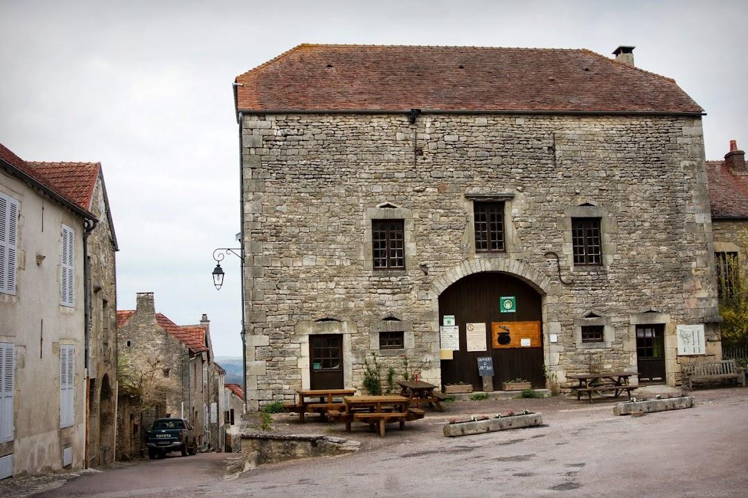 Достопримечательности Флавиньи-сур-Озрен, Бургундия, Франция - фото