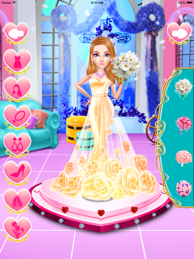 Princess wedding salon android apps on google play