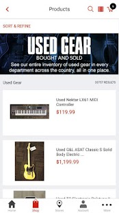 Guitar Center: Shop Music Gear- screenshot thumbnail