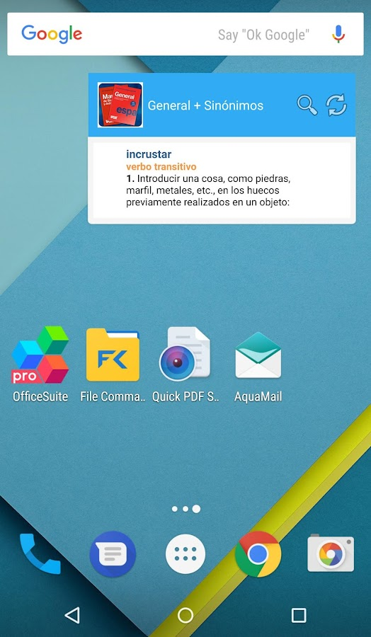 VOX General Spanish Dictionary & Thesaurus- screenshot