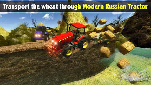 Rural Farm Tractor 3d Simulator - Tractor Games 2.1 screenshots 8