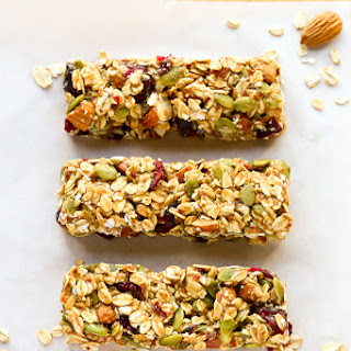 Healthy Fruit & Nut Granola Bars.