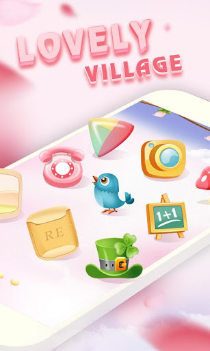 Lovely Village GO Theme