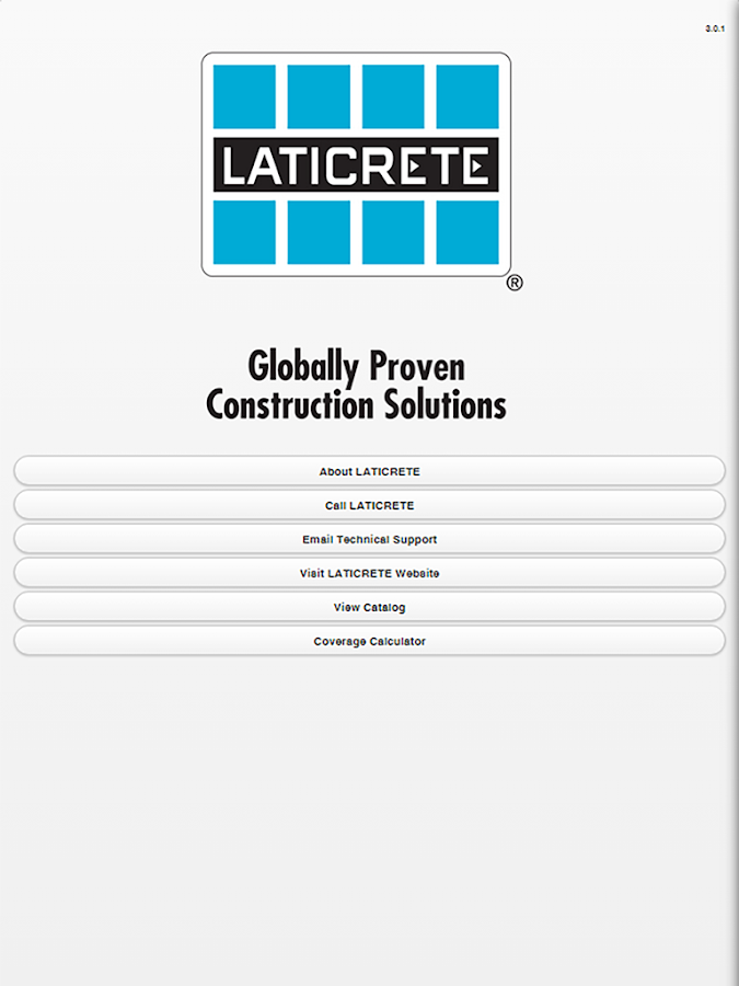 LATICRETE Mobile- screenshot
