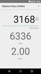 Elliptical Steps & Miles- screenshot thumbnail