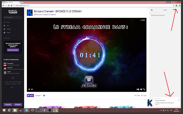 Kenibi Live Extension
