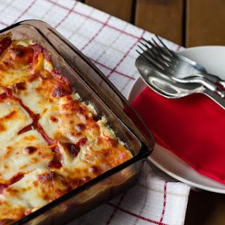 Baked Creamy Tortellini