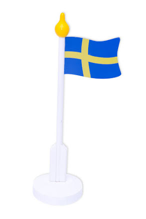 Bordsflagga, Sverige