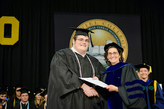 Photo: Zachary Heckle, Mathematics and Computer Science major from Westminster, Md., The David Brian Cross Memorial Award for Achievement in Mathematics