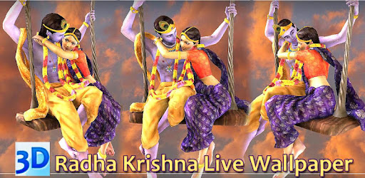 3D Radha Krishna Jhulan Live Wallpaper - Apps on Google Play