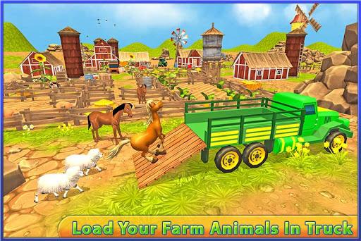 輸送トラックの運転手:動物