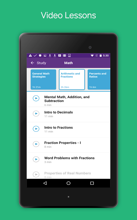 GRE Prep & Practice by Magoosh- screenshot