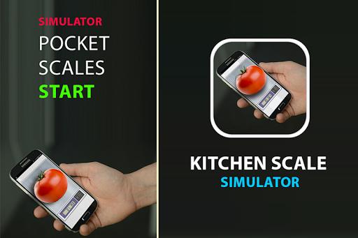 Kitchen Scale simulator