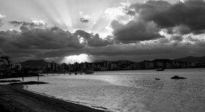 Photo: ImagemVIP- Básico Digital. Presencial. Primeira aula prática, com câmera. Local: Av. Beiramar Norte, à tarde.