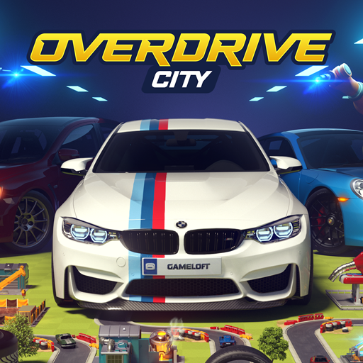 Overdrive City – Car Tycoon Game Icon