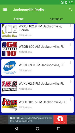 Jacksonville Radio Stations  screenshots 2