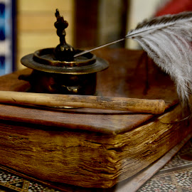 Ancient Writing Tools by Nadeem M Siddiqui - Artistic Objects Antiques