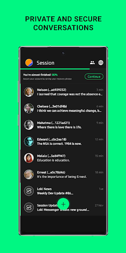 Session - Private Messenger 1.3.1 screenshots 1