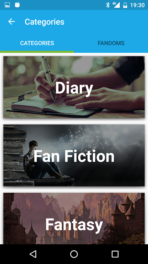 Movellas Stories & Fanfiction- screenshot