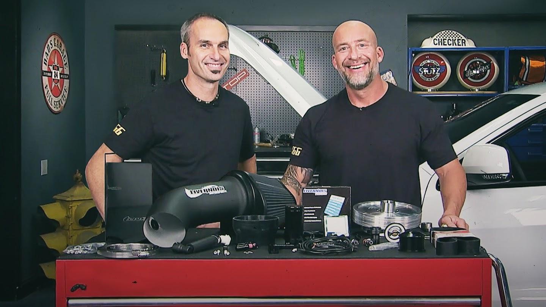 Watch Two Guys Garage live