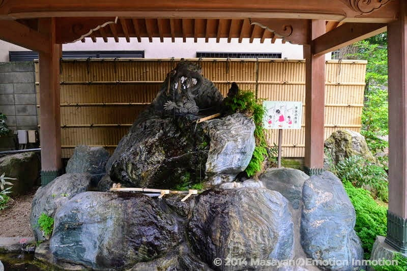 馬橋稲荷神社の手水舎