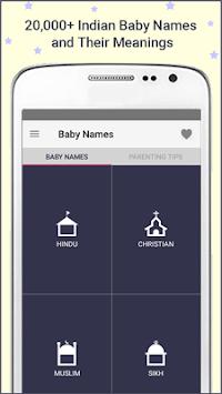 Indian Baby Girl Names Boy Meanings APK Screenshot Thumbnail
