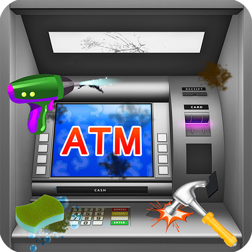 ATM Machine Cleaning & Fixing Games-ATM Cash Games