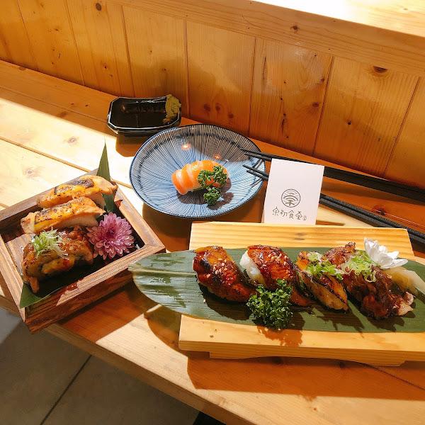 宗初食堂 新竹夜晚,來享用澎湃無敵海鮮蒸蛋,再來一貫肥美鮭魚握壽司 城隍廟附近