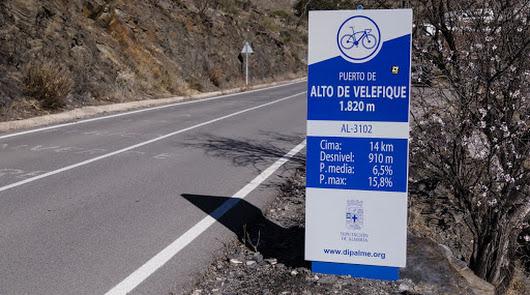 Puertos de montaña pensados para los ciclistas