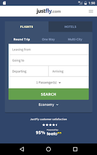 Justfly.com - Book Cheap Flights, Hotels and Cars- screenshot thumbnail