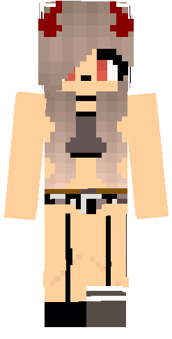 Minecraft bikini sexy skin girl Bikini Sexy Nova Skin
