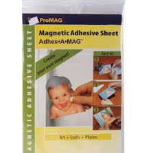 ProMag Adhesive Magnetic Sheets 5X8 1/Pkg