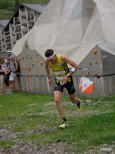 Photo: Francois at the sprint finish (stage 1)