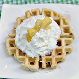 Coconut Waffles for One.