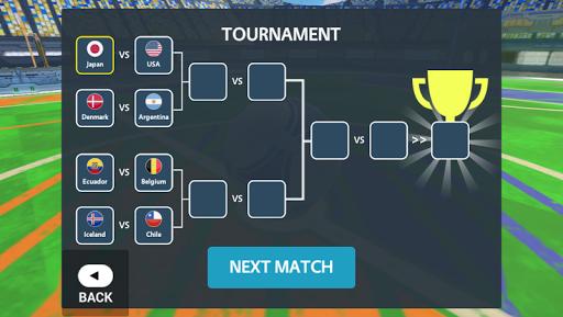 Sport Car Soccer Tournament 3D  screenshots 4